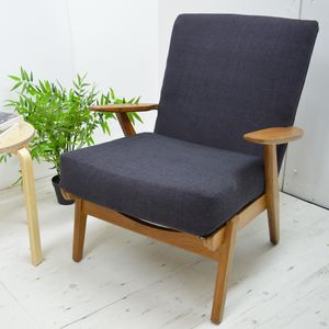 Mid Century Refurbished Parker Knoll Armchair - furniture
