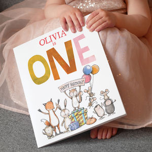 Personalised Birthday Story Book - gifts for babies