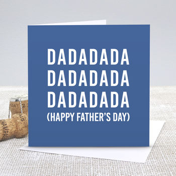 Dadada Baby Father's Day Card