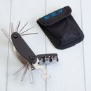 Personalised Cycling Multi Tool And Pouch