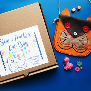 Sew A Cat Bag Kit
