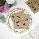 Wildflower Seed Wedding Favours Personalised Butterfly