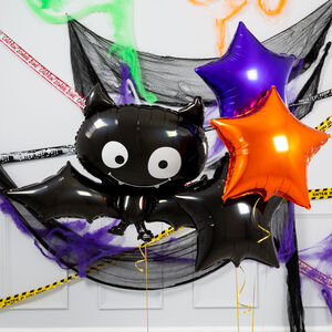 Baby Bat Star Halloween Inflated Foil Bunch