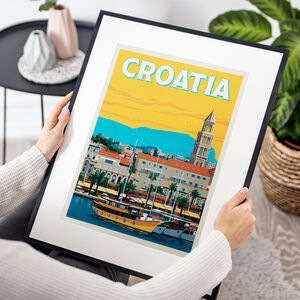 Croatia Travel Print