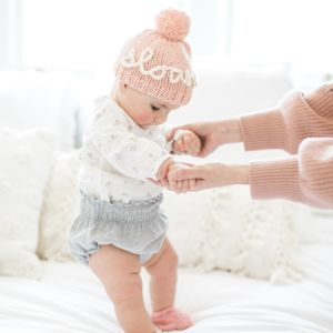 Knit Your Own Baby Personalised Name Hat Kit - gifts for mums to be
