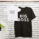 Big Boss, Little Boss T Shirt Set