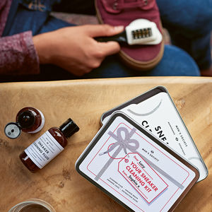 The Festive Sneaker Cleaning Kit - gifts for him