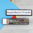 superhero gifts for men stationery by six0six design