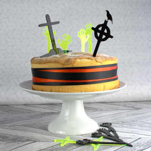 Halloween Cake Topper Set - whatsnew