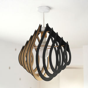 Raindrop 3D Lampshade - lamp bases & shades