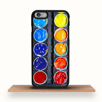Watercolour Palette iPhone Case For All Models