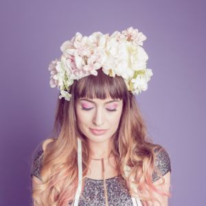 Pastel Ombre Floral Crown - whats new