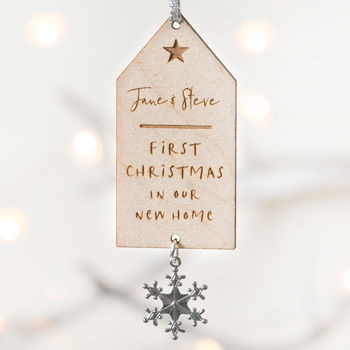 First Christmas Together Personalised Decoration