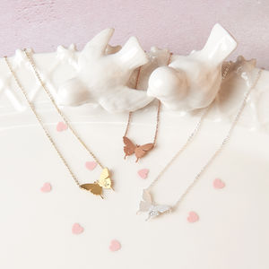 Kids Delicate Butterfly Necklace - children's accessories
