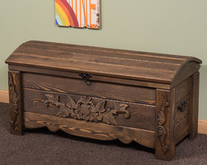 Trunk Chest Storage Box 100cm Wide - chests & blanket boxes