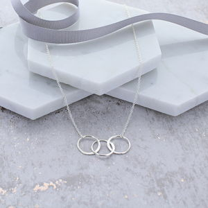 30th Birthday Infinity Link Necklace