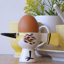 Handmade Ceramic Bird Egg Cup