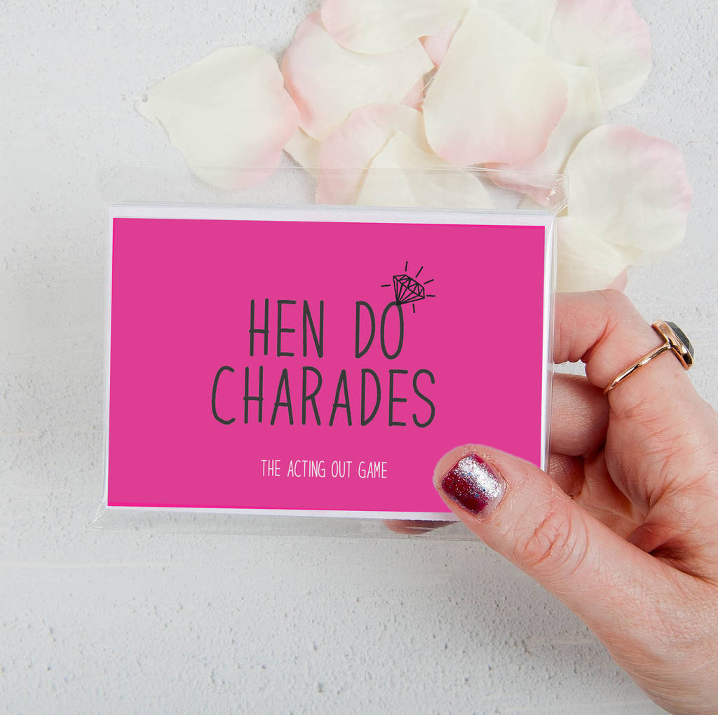 Hen Do Charades Party