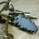 3D Favourite Song Soundwave Keyring