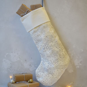 Starlings Christmas Stocking - stockings & sacks
