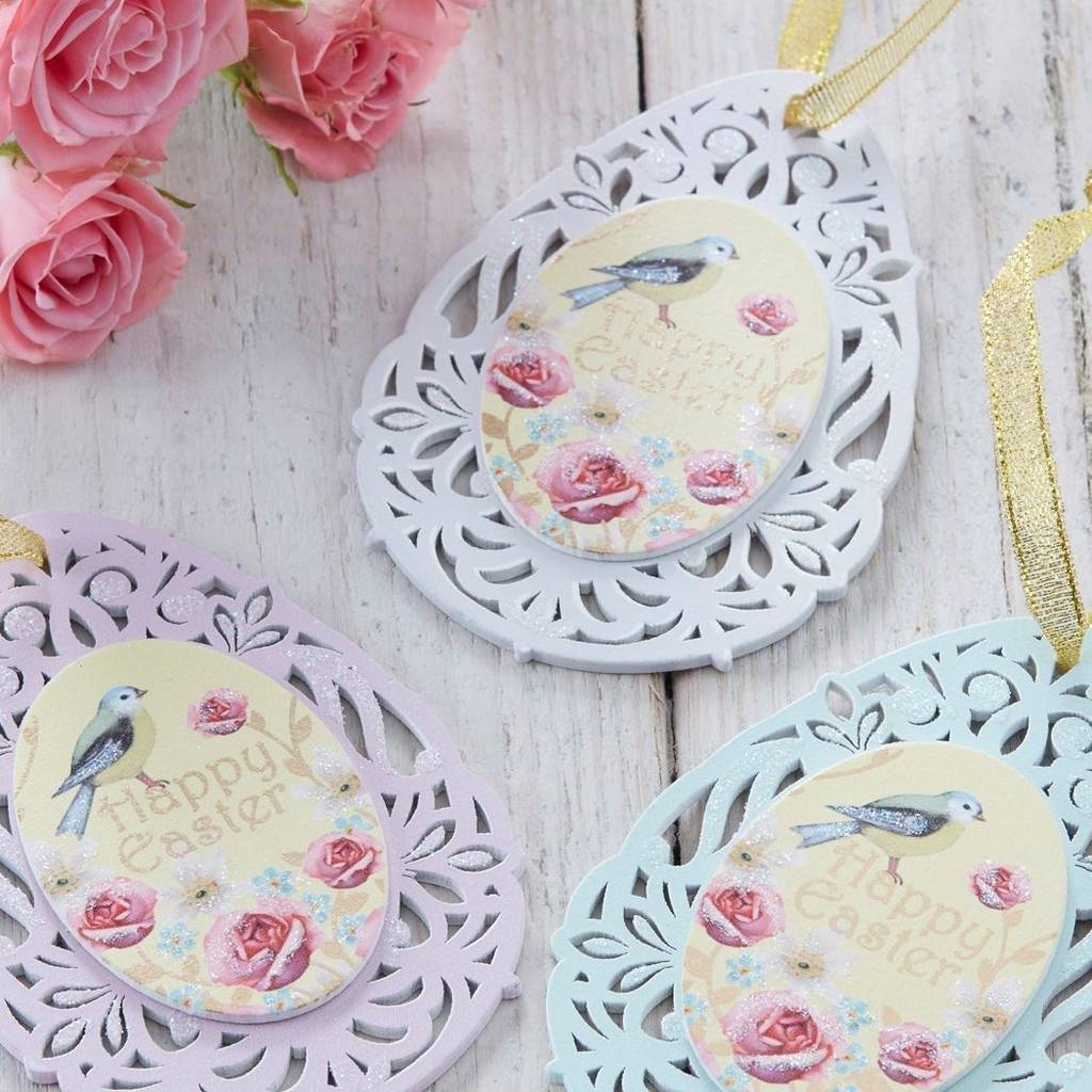 Vintage Style Easter Decorations