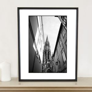 Cathedral, France Photographic Art Print