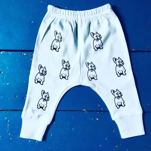 French Bulldog Baby Trousers