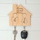 Keyhouse Keyring Holder With Two Or Three Keyrings