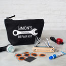 Personalised Bicycle Lights And Tool Gift Set