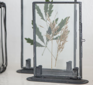 Metal Photo Frame With Stand - picture frames