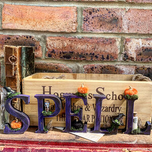 Magical Decorative 'Spell' Letters
