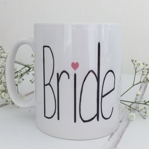 'Bride' Wedding Mug