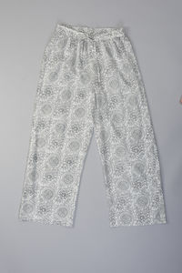 Pichola Outline Floral Design Pj Trousers
