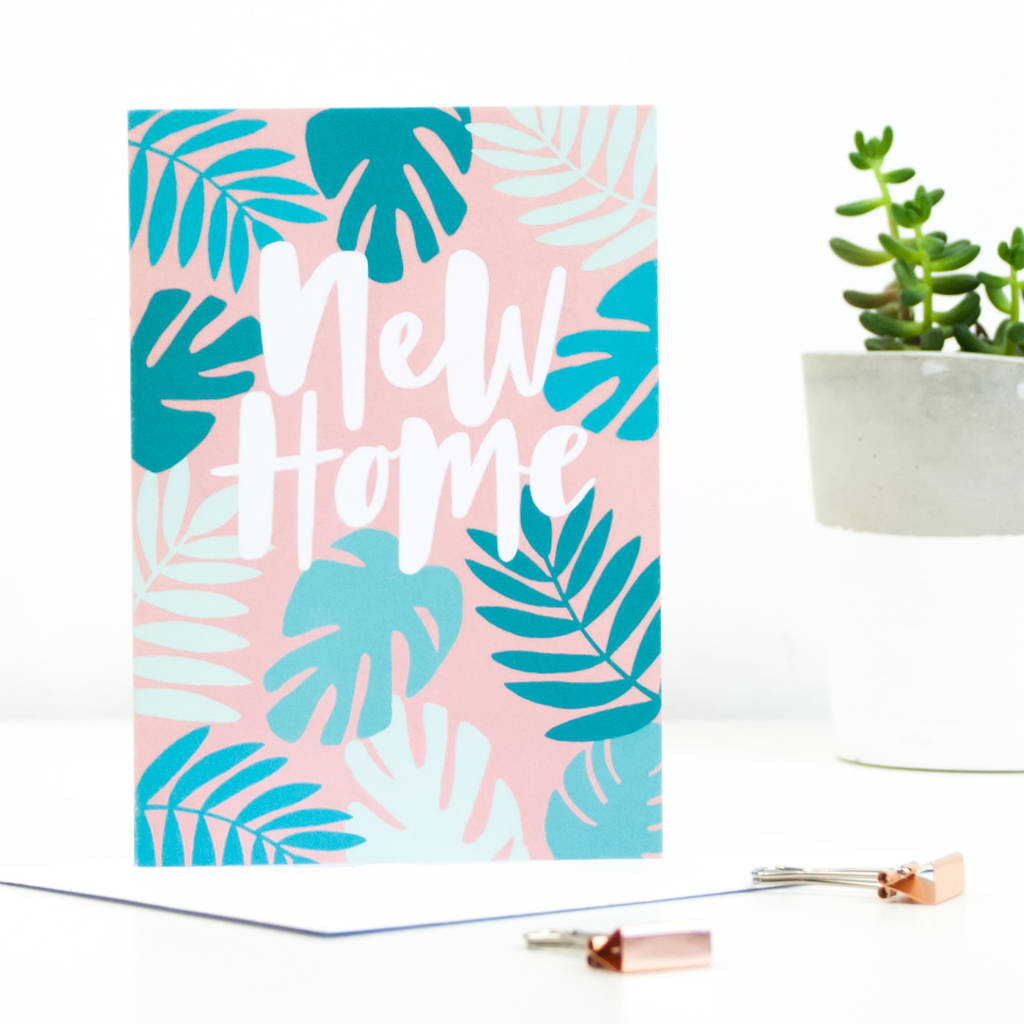 New home greetings card by sadler jones notonthehighstreet new home greetings card kristyandbryce Image collections