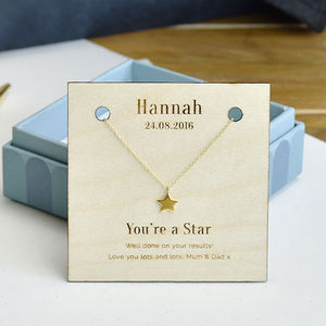 'You're A Star' Personalised Sterling Silver Necklace - necklaces & pendants