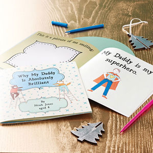 Personalised 'Why My Daddy Is Brilliant' Gift Book - for new dads