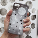 Night Sky Moon And Stars Phone Case