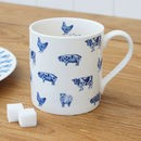 'Farm Animals' China Mug