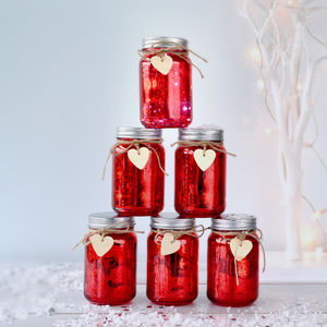 Sparkle Christmas Jam Jar Light