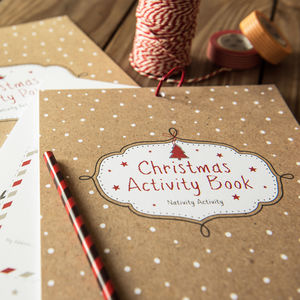 Kids Christmas Activity Book - winter sale