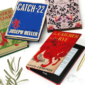 Classic Book Cover Kindle Case In Various Designs
