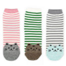 cat-stripe-socks-pink-green-grey