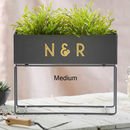 Exclusive Monogram Metal Trough
