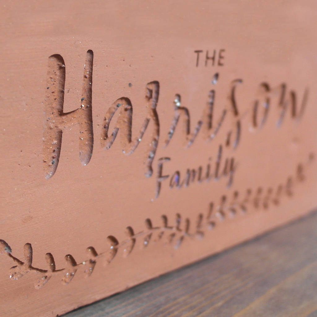 Personalised Terracotta Planter By Letterfest Notonthehighstreet Com