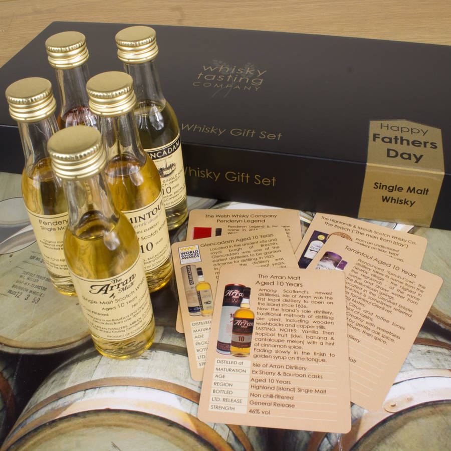 Personalised Fathers Day Whisky Gift Set