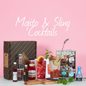 Southside Mojito And Raspberry Sling Gin Cocktail Set