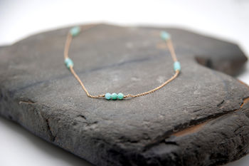 Amazonite Chain By Blj Jewellery