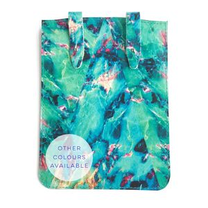 'Neon Marble' Leather Kindle / iPad Mini Case