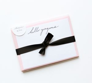 'Hello Gorgeous' Notecards