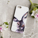 Inky Hare Phone Case